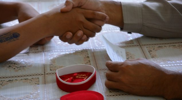 WBP Lapas Narkotika Jakarta Nikahkan Putrinya di Lapas