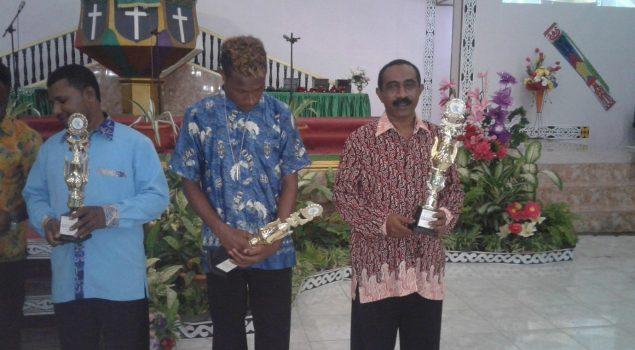 Vocal Grup Lapas Serui Sandang Gelar Gold Champions