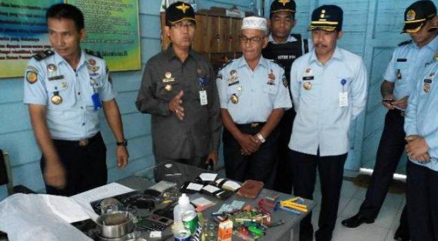 Satgas Kamtib Kanwil Aceh Sidak Rutan Sinabang