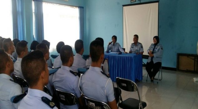 Taruna POLTEKIP Praktik Buat Litmas di Bapas Bogor