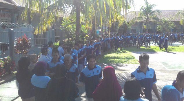 Awali Ramadan WBP dan Petugas Rutan Saling Bermaaf-maafan