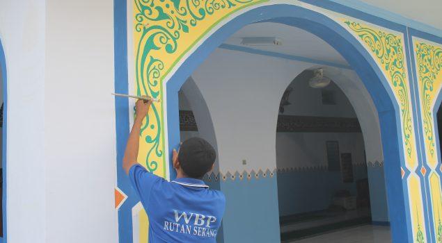 Keindahan Kaligrafi WBP Warnai Rutan Serang