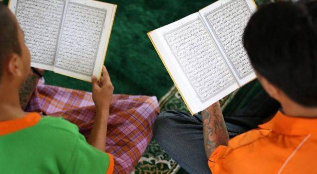 Narapidana di LPKA Tangerang Ikuti Pesantren Ramadhan