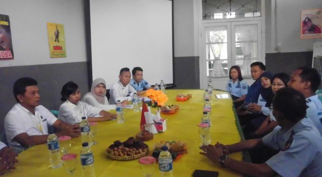 Monev TC Pantau Perkembangan Rehab di Lapas Madiun