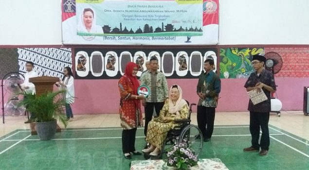 Andik LPKA Tangerang Buka Puasa Bersama Ibu Shinta Nuriyah