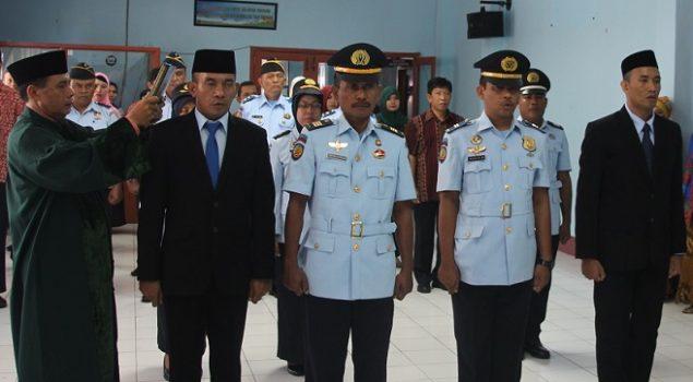 Pelantikan 7 Pejabat Baru Jajaran PAS Kanwil Maluku Utara