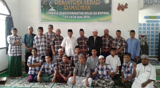 Kehadiran Pesantren Bimbing WBP Dalami Agama dan Al Quran
