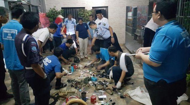 Razia & Mutasi WBP Atasi Gangguan Kamtib di Lapas Bekasi