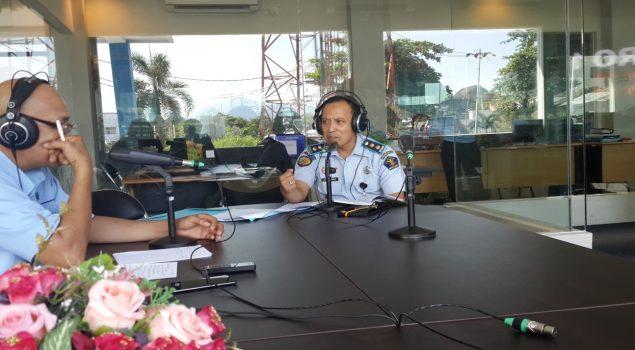 Kabapas Manado Sosialisasikan Peran Bapas di RRI Manado