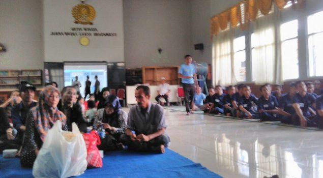 Gelar Family Support Group, Lapas Bogor Datangkan Keluarga WBP
