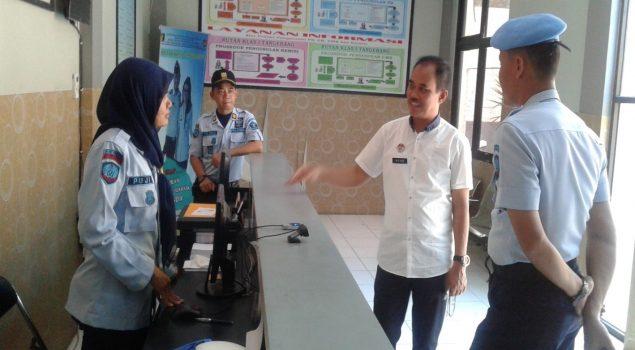 Kakanwil Banten Tinjau Layanan Kunjungan Rutan Tangerang