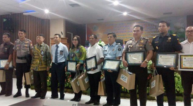 Lapas Wanita Sungguminasa Terima Penghargaan dari Kanwil Perbendaharaan Makassar
