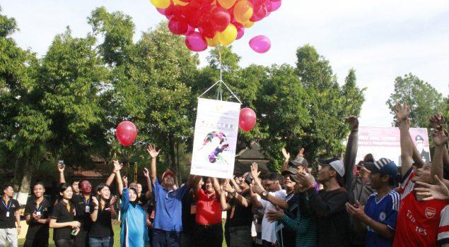 Peringati Hari Anak, Lapas Semarang dan Hotel Noorman Ajak WBP Anak Bermain dan Senam Bersama