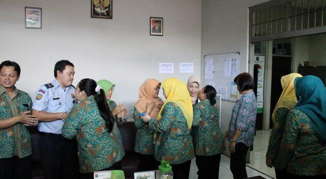 Halal Bihalal Pererat Silaturahmi di Rupbasan Jaktim & Bapas Pekanbaru