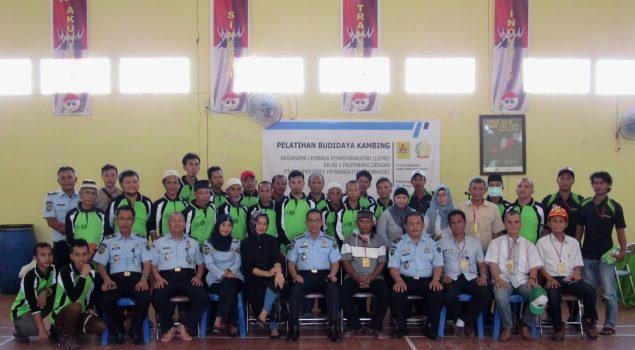 Lapas Palembang Bina Kemandirian WBP dengan Pelatihan Budidaya Kambing