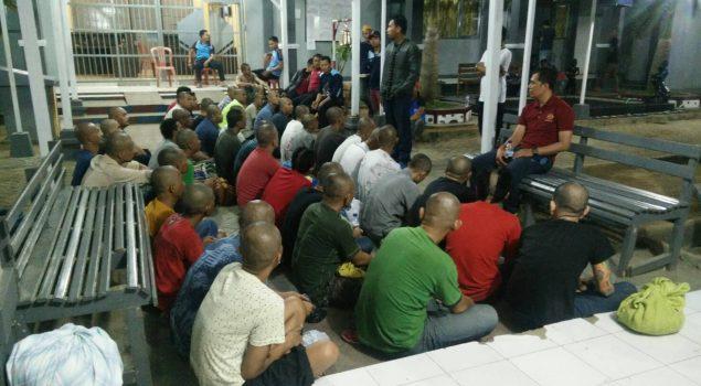 Lapas Narkotika Sungguminasa Terima 40 Orang WBP Pindahan dari Rutan Makassar
