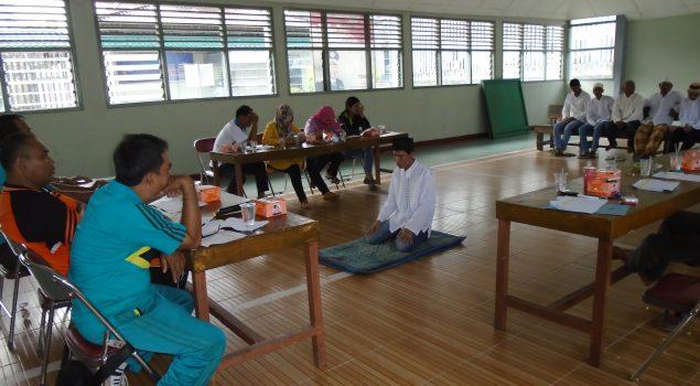 Rutan Prabumulih Wajibkan WBP Hafal Ayat Pendek dan Tata Cara Sholat