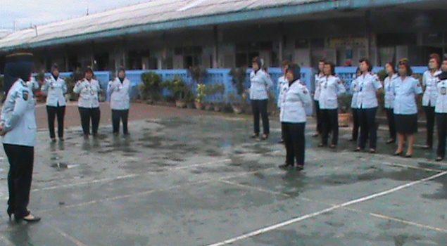 Pimpin Apel, Kalapas Wanita Medan Ubah Formasi Barisan