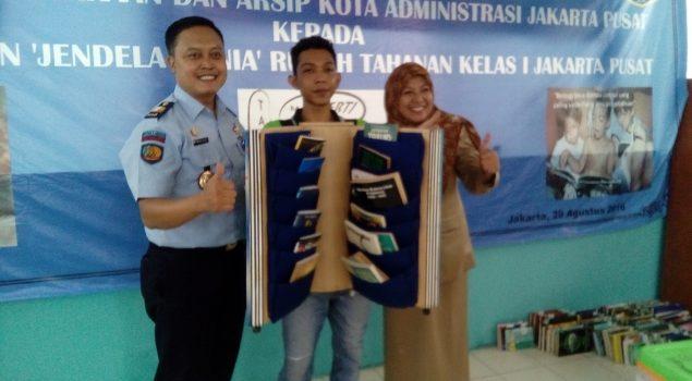 600 Buku Baru Untuk Perpustakaan Rutan Jakarta Pusat