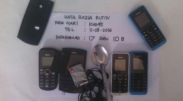 Rutan Baturaja Giatkan Razia Demi Zero Narkoba