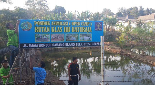 Rutan Baturaja Kembangkan Budidaya Ikan Lele & Pertanian