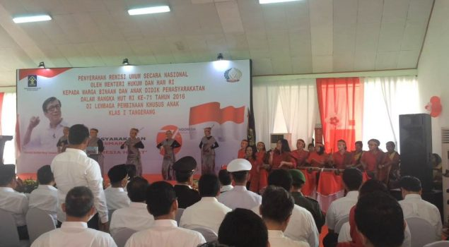 Narapidana Ikut Merasakan Kemerdekaan Indonesia
