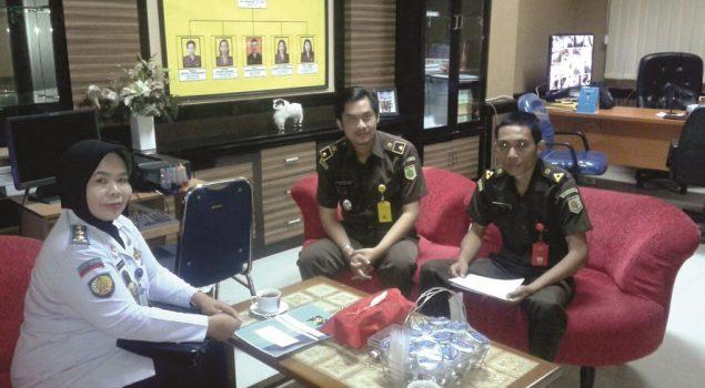 Rupbasan Bandung Koordinasikan Status Basan/Baran dengan Kejari Bale Bandung