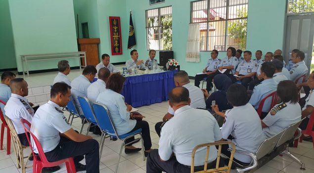 Inspektur Wilayah II Sambangi Lapas dan Rutan Ambon