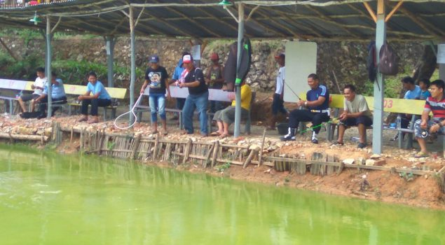 Lomba Memancing Pupuk Kebersamaan Petugas Rutan Baturaja