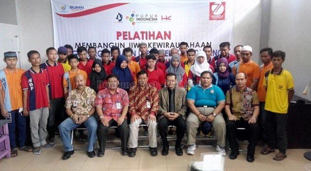 PKT Berikan Pelatihan Pada Warga Binaan Lapas Bontang