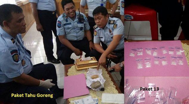 Dalam 3 Minggu, Petugas Lapas Gorontalo Gagalkan 4x Penyelundupan Narkoba