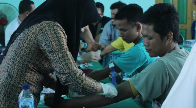 100 WBP Lapas Amuntai Jalani Sero Survey HIV/AIDS