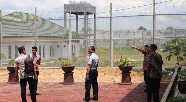 Tim Monitoring Kanwil Kalsel Kunjungi Lokasi Pembangunan Lapas