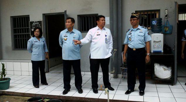 Kakanwil Jateng Tinjau Unit Pelayanan di Rutan Kebumen
