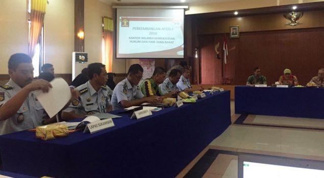 Kanwil Hukum dan HAM Jabar Tingkatkan Koordinasi & Komunikasi dengan BPKP Jabar