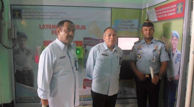 Kunjungi Rutan Ambon, Staf Ahli Menteri: Semua Bersih & Baik