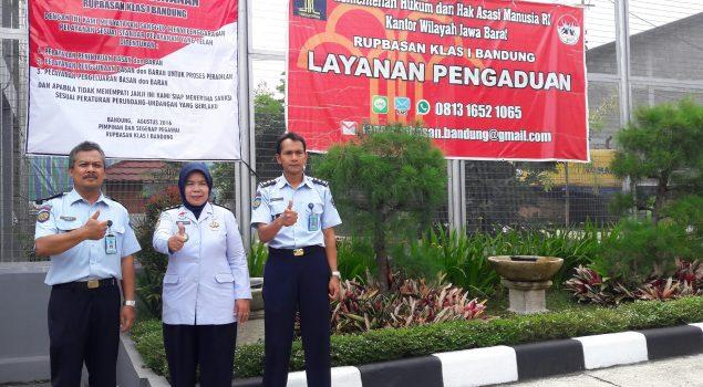 Rupbasan Bandung Siap Implementasi Maklumat Pelayanan