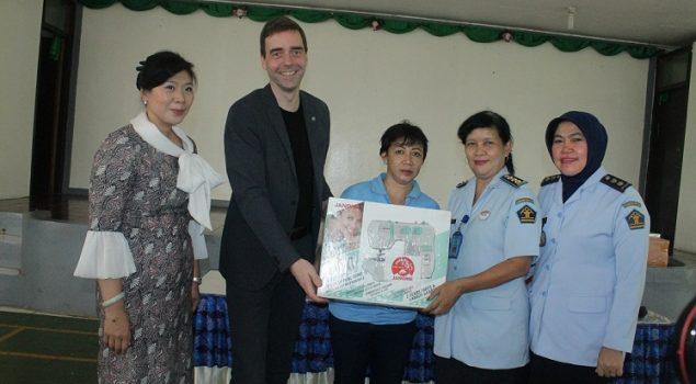 Dukungan Mitra Kerja Gali Kreativitas WBP Lapas Wanita Tangerang