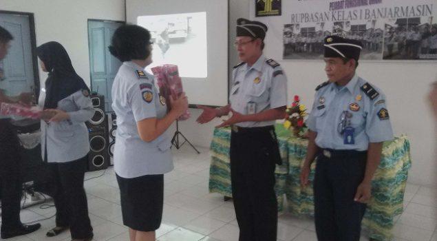 Rupbasan Banjarmasin Lepas Dua Pegawai Purnabhakti