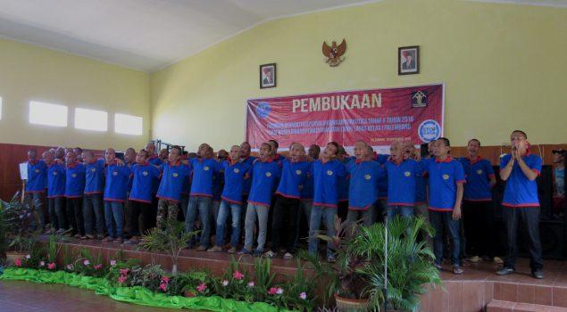 Lapas Palembang Gelar Rehabilitasi WBP Narkoba Tahap II