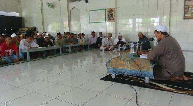 Pengajian Rutin di Lapas Nunukan Libatkan Pesantren Raudathul Quran