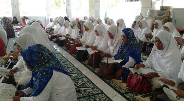 WBP Wanita Mengaji Bersama Badan Kontak Majelis Taklim Kab. Nunukan