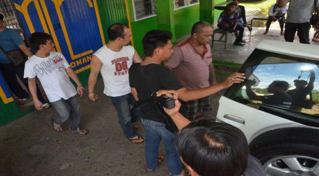 Kalapas Padangsidempuan Serahkan 3 Napi Sabu ke Polres Padangsidempuan