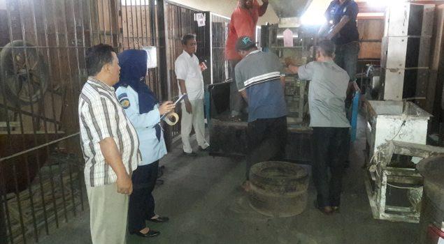 Basan Milik Balai Besar POM Bandung Dititipkan di Rupbasan Bandung