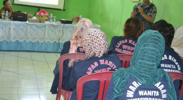WBP Lapas Wanita Palembang Disuluh Masalah HAM