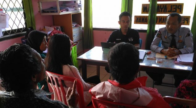 PK Bapas Lahat Damaikan Klien Melalui Diversi