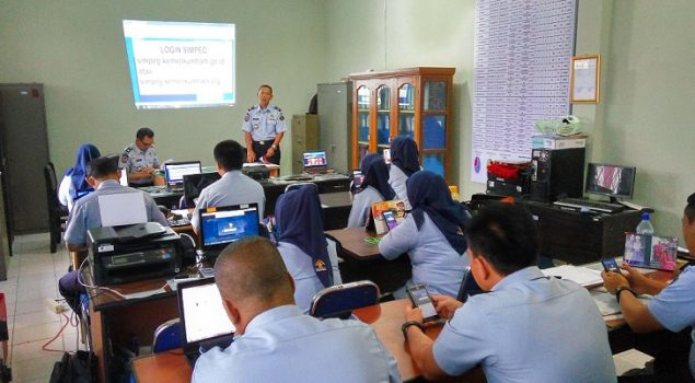 UPT Pemasyarakatan Mulai Sosialisasikan SIMPEG NEW 015