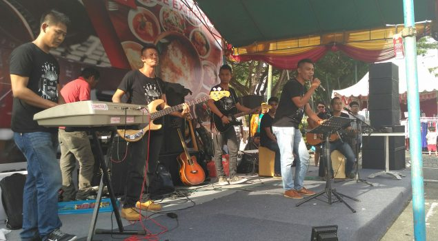 Correction Band Rutan Balikpapan Juarai Culinary Music Festival 2016