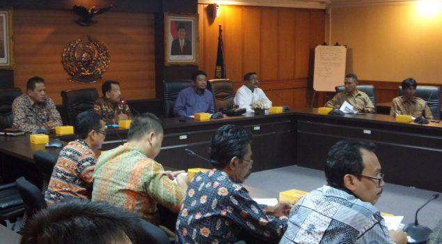 Bahas Kenaikan Status Cabrut Labuha, DPRD Halmahera Selatan Konsultasi Ke Ditjen PAS