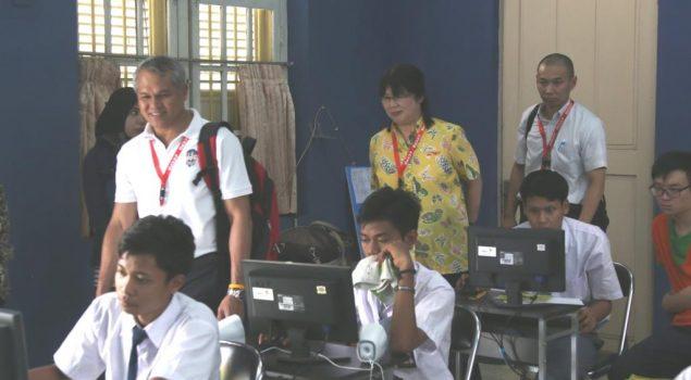 Delegasi ACCFA Borong Hasil Karya Anak Didik LPKA Tangerang